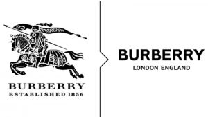 Burberry logo old new