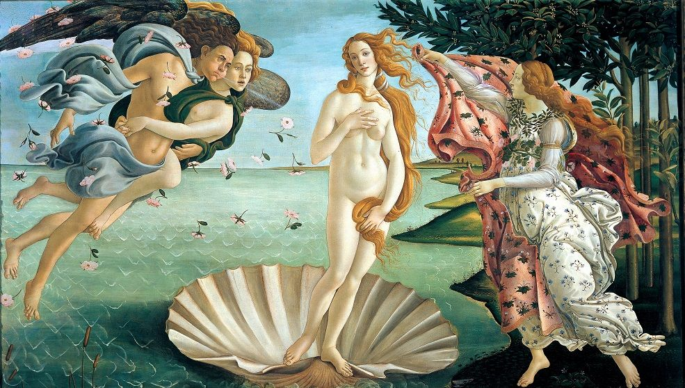 marketing et art et Venus de Botticelli