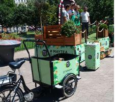 May Tea vélo rue plantes street marketing marques tendances
