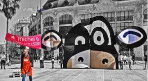 Michel Augustin vache paris street marketing marques tendances