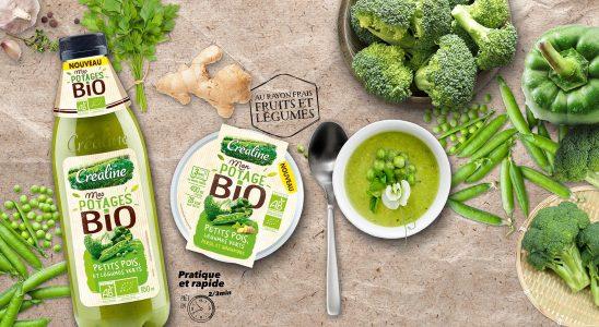 Packaging vert pour produit bio