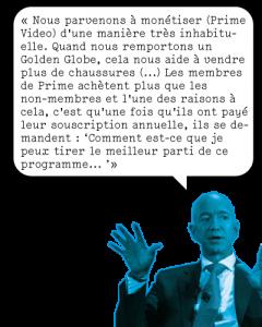Jeff Bezos Quote Amazon Prime Netflix