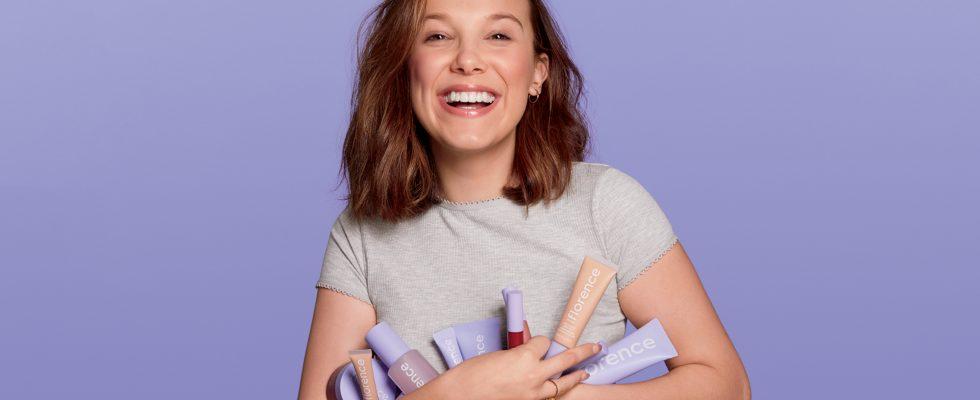 Millie Bobby Brown et sa marque Florence by Mills, soins et maquillage pour les peaux jeunes