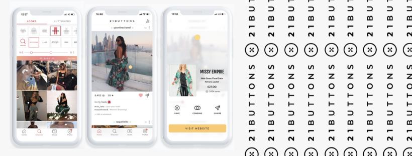 21 Buttons : le réseau social de mode où tout le monde peut être influenceur