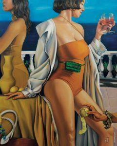 Jacquemus peinture sport publicitaire