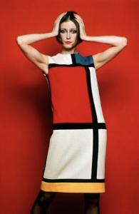 Robe créateur YSL, art et mode