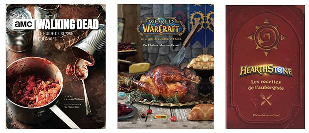 Livres de cuisine séries et jeux vidéo