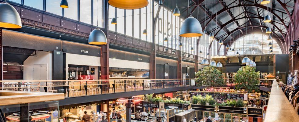 Gare du sud un food hall à Nice
