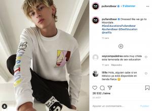 Post Instagram Sex Education x Pull&Bear