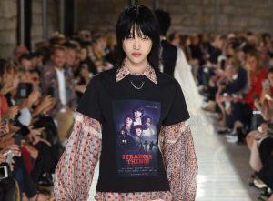 T-shirt Louis Vuitton à l'effigie de la série Stranger Things