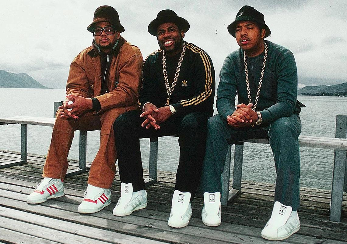 Collaboration de la marque Adidas avec le groupe de rap Run-DMC