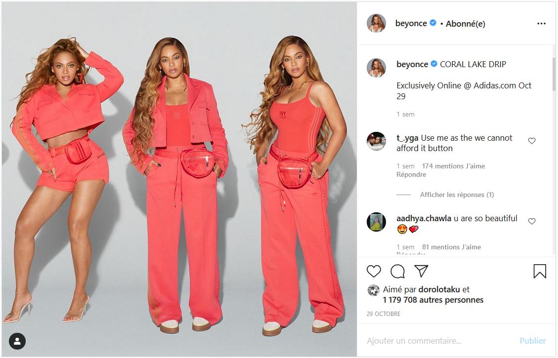 Beyonce loungewear