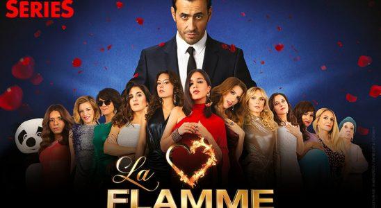"""Affiche """"La flamme"""" via Canal Plus Séries"""