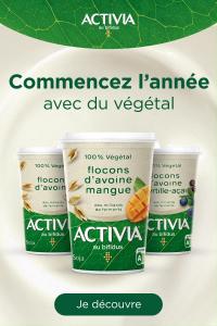 Présentation du produit 100% végétal