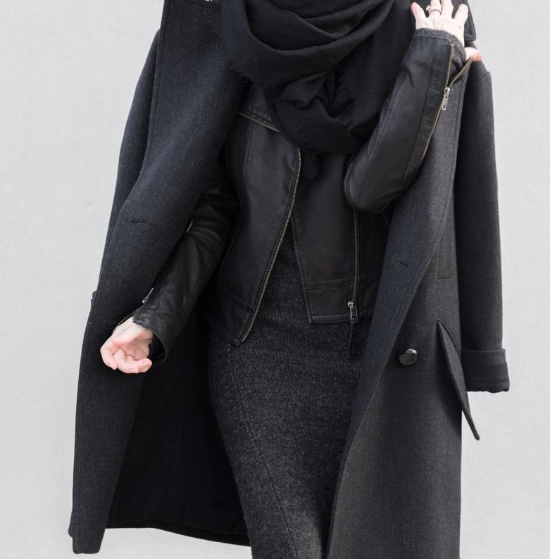look minimaliste femme