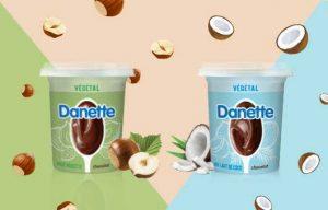 Présentation Danette végétale de Danone
