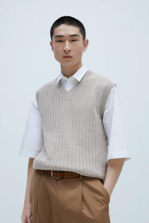 look minimaliste homme