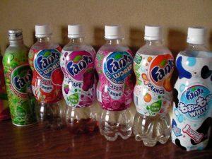 Les goûts de Fanta japonais !