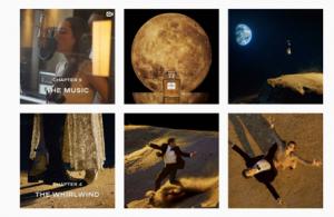 Extrait du compte Instagram de Chanel