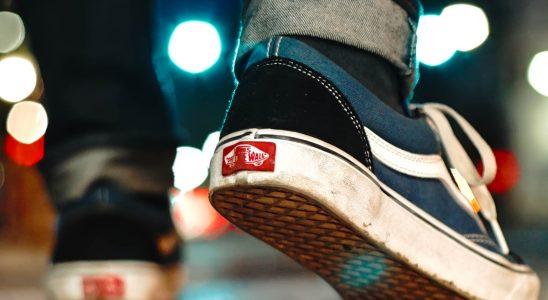Chaussures de skate de la marque Vans